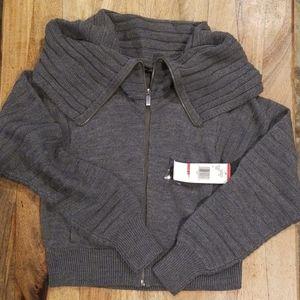 Nine Weeks Shawl Collar Sweater